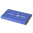 "SATA 2.5"" USB Hard Disk Enclosure Support 1 TB Hard Disk - Blue"