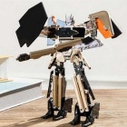 Xiaomi MIPAD Transformable Robot Model - Gold