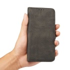 PC + PU Flip Wallet Cover Case for IPHONE 6S Plus / 6 Plus - Black