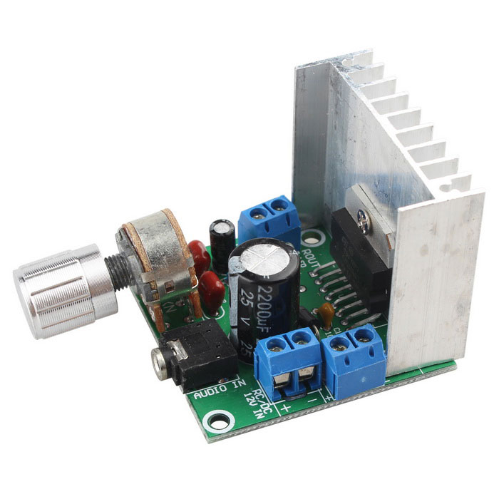 12V TDA7297 Dual Channel Power Amplifier Board - Green + WhiteBoards &amp; Shields<br>Form ColorGreen + White + Multi-ColoredModelN/AQuantity1 PieceMaterialFR4Packing List1 * 12V TDA7297 Dual channel power amplifier board<br>