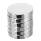 D16*16*3mm Cylindrical NdFeB Magnets - Silver (6PCS)