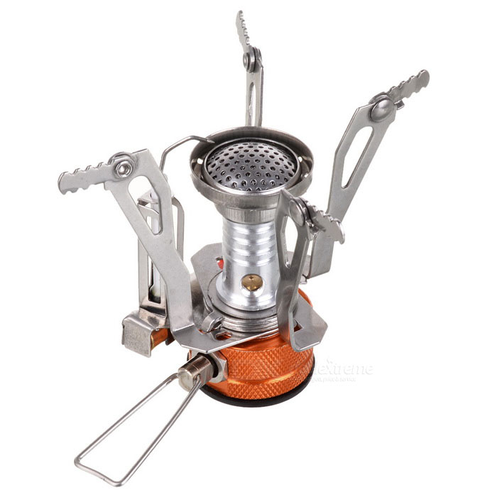 Mini Foldable Outdoor Electronic Ignition Cooking Stove - SilverCooking Stove And Hardware<br>Form  ColorSilver + MulticoloredQuantity1 DX.PCM.Model.AttributeModel.UnitMaterialStainless steel + aluminum alloyBest UseFamily &amp; car camping,Camping,Mountaineering,Cycling,FishingStove TypeMini folding typeFuel typeCanisterPower3000 DX.PCM.Model.AttributeModel.UnitAverage Boil Time3.5 minutesTypeCamp StovesPacking List1 * Stove<br>