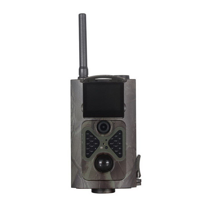 HC-500G12MP SMS Control 3G GPRS MMS Hunting Camera Surveillance CameraSport Cameras<br>Form  ColorCP CamouflageModelHC500GShade Of ColorMulti-colorMaterialABSQuantity1 DX.PCM.Model.AttributeModel.UnitImage SensorCMOSImage Sensor Size1/2.5 inchesAnti-ShakeYesFocal DistanceF/No=3.0 FOV (field of view): 60 degrees DX.PCM.Model.AttributeModel.UnitFocusing Range3mmOptical ZoomOthers,autoDigital ZoomOthers,autoBuilt-in SpeedliteNoWide Angle60Effective Pixels12000000ImagesJPEG,JPGStill Image Resolution12MP = 4032 x 3024 8MP = 3264 x 2448 5MP = 2560 x 1920VideoAVIVideo Resolution1080P (15fps) 720P (25fps) VGA (30fps)Video Frame Rate30Audio SystemMonophonyCycle RecordYesISO400Exposure CompensationOthers,autoWhite Balance ModeOthers,autoSupports Card TypeTFSupports Max. Capacity32 DX.PCM.Model.AttributeModel.UnitInput InterfaceOthers,-Output InterfaceAV,Mini HDMILCD ScreenYesScreen TypeTFTScreen Size2 DX.PCM.Model.AttributeModel.UnitBattery Measured Capacity 0 DX.PCM.Model.AttributeModel.UnitNominal Capacity0 DX.PCM.Model.AttributeModel.UnitBattery included or notNoLow Battery AlertsYesWater ResistantFor daily wear. Suitable for everyday use. Wearable while water is being splashed but not under any pressure.Supported LanguagesEnglish,Russian,Spanish,French,GermanPacking List1 * Camera1 * Antenna1 * Binding belt (90cm)1 * AV cable (80cm)1 * USB cable (40cm)1 * Remote controller (1 * CR2025 included)1 * English user manual<br>