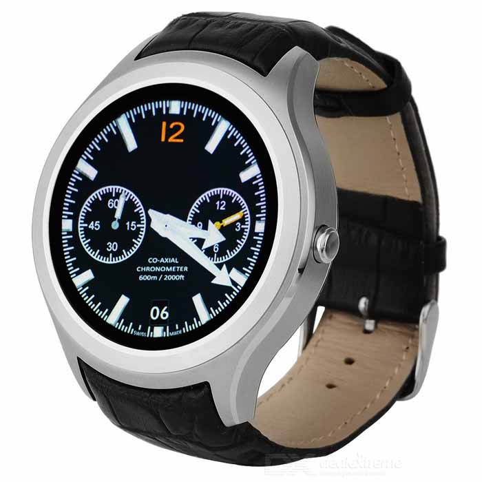 No.1 D5 Android 4.4 MTK6572 Smart Watch with Wi-Fi, GPS - Silver