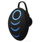 A3 Bluetooth V4.0 Single-Ear fone de ouvido intra-auriculares - preto + azul