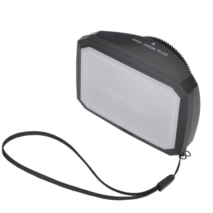 Mennon 16:9 43mm Lens Hoods w/ White Balance Cover for Sony / JVC