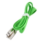 Zinc Alloy Interface Micro USB Data Cable for Samsung / Xiaomi / HTC