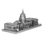DIY 3D Puzzle Assembled Model Toy Congress - Silver
