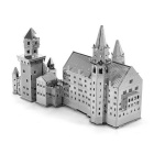 DIY 3D Puzzle Assembled Model Toy Neuschwanstein Castle - Silver