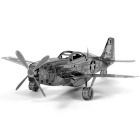 DIY 3D Puzzle Assembled Model Toy Mustangs - Silver