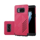 Dual Layer PC + TPU CASE for Samsung Galaxy Note 7 - Black + Red