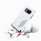 Dual Layer PC + TPU CASE for Samsung Galaxy Note7 - Black + White