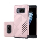 Dual Layer PC + TPU Case for Samsung Galaxy Note 7 - Rose Gold