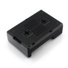 ABS Enclosure Case for Raspberry Pi 3B / 2B / B+ with Fan Hole - Black