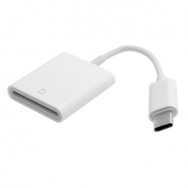 USB 3.1 Type C USB-C to SD SDXC Card Reader Adapter - White