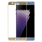 Tempered Glass Screen Protector for Samsung Galaxy Note 7 - Golden
