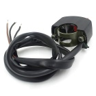 CS-065B1 3-Wire Switch for Motorcycle Headlamp - Black
