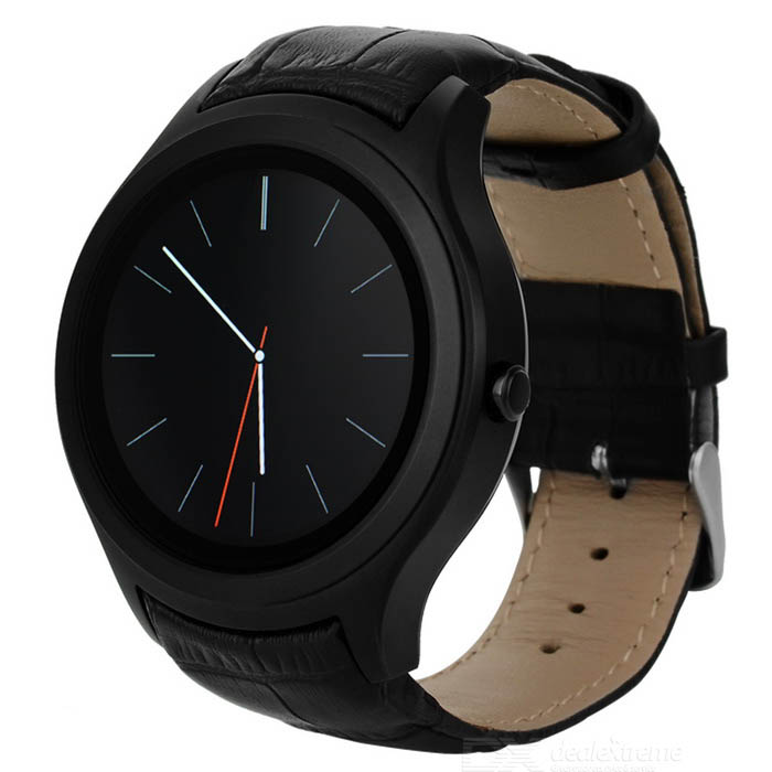 No.1 D5 Android 4.4 Smart Watch MTK6572 with Wi-Fi, GPS - Black