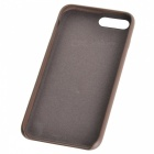 Protective PU Back Case for IPHONE 7 PLUS - Brown