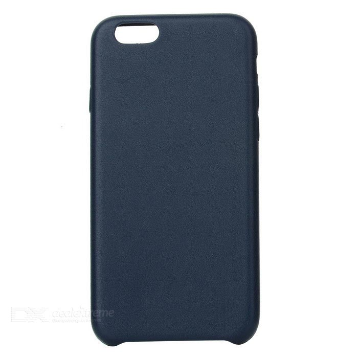 Protective PU Back Case for IPHONE 7 - Deep Blue