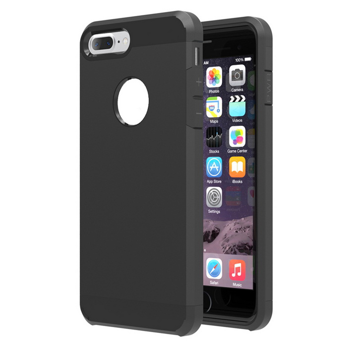 Protective Plastic Back Case Cover for IPHONE 7 PLUS - BlackPlastic Cases<br>Form  ColorBlackQuantity1 DX.PCM.Model.AttributeModel.UnitMaterialABSCompatible ModelsOthers,IPHONE 7 PLUSDesignSolid ColorStyleBack CasesPacking List1 * Case<br>