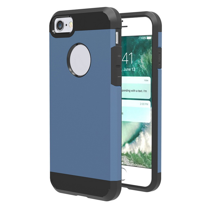 Protective Plastic Back Case for IPHONE 7 - Saphhire