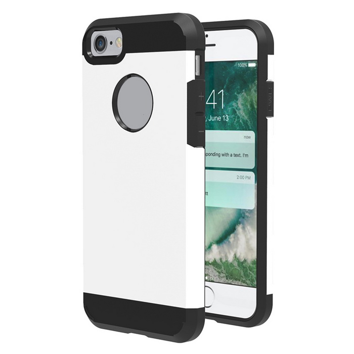 Protective Plastic Back Case for IPHONE 7 - White