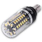 Youoklight E12 5W 56-SMD 5736 LED bombillas de maíz blanco caliente (4PCS)