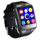 Eastor Bluetooth Smart Watch Q18 Apoyo SIM Cámara GSM - Negro