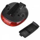 YouOKLight 5 Red LEDs 2-Laser 7-Mode Cycling Laser Beam Tail Light