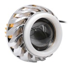 CS-463A2 30W Motorcycle Bifocal Lens Angel / Devil Eyes Light - Silver