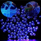 Waterproof 2W 200-LED Colorful Solar Christmas Light String for Gardens (22M)
