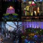 KWB Waterproof 2W 200-LED Warm White Solar Christmas Light String (2V)