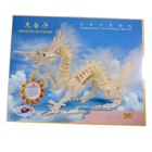 Woodcraft Construction Kit - Dragon Calendar