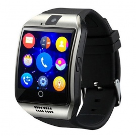 Eastor Bluetooth Smart Watch Q18 Support SIM GSM Camera - White