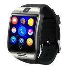 Eastor Bluetooth Smart Watch Q18 Apoyo Cámara GSM SIM - Plata