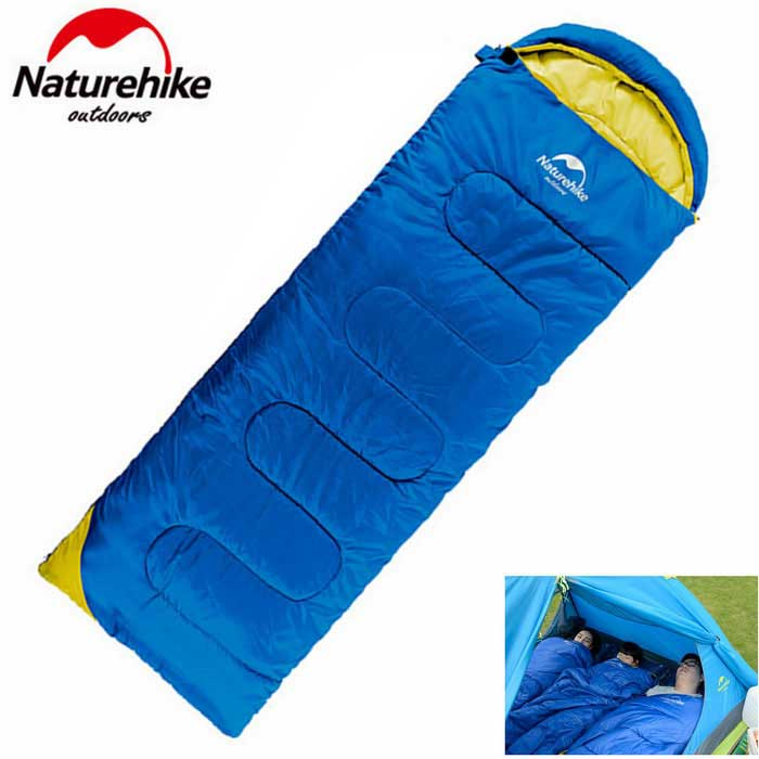 NatureHike NH16T001-T Envelope Shape Outdoor Camping Sleeping Bag