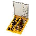 JK-6089 45-in-1 Screwdriver Electronic Magnetic Steel Screwdriver Set