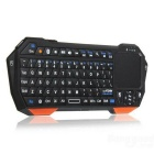 BT05 Wireless Bluetooth Keyboard Mini Touch Phone Keyboard - Black