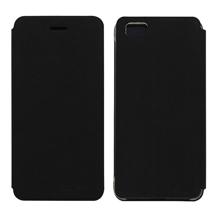 OCUBE PU Leather Case for ulefone Future Mobile Phone - Black