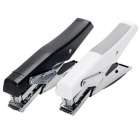 0329 Medium-sized Hand-held Type Stapler 12# Universal Staple - Black