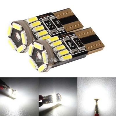 MZ T10 LED Car Clearance Light Neutral White 240lm (12V / 2PCS)
