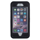 3-in-1 Shockproof Combo Phone Case for IPHONE 6/6S - Black