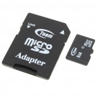 Genuine Teamgroup Micro SD/TransFlash Card with SD Card Adapter (8GB)