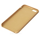 Protective PU Back Case for IPHONE 7 PLUS - Golden