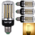 YouOKLight E27 15W 130 SMD-5736 LED Warm White Corn Bulbs (4Pcs)