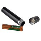 RichFire UV LED 395nm Fluorescent Stuff Detect Flashlight - Black