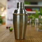 Stainless Steel Cocktail Shaker - Silvery Grey (500ml)