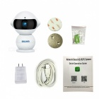 ESCAM QF200 960P Mini Robot 1.3MP WiFi AP IR IP Camera (US Plug)