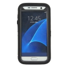 3-in-1 Shockproof Combo Phone Cases for SAMSUNG GALAXY S7 - Black